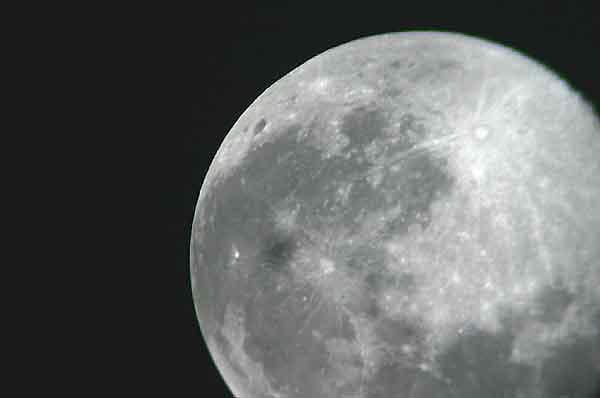 Astronomie planetarium mond astrofotografie